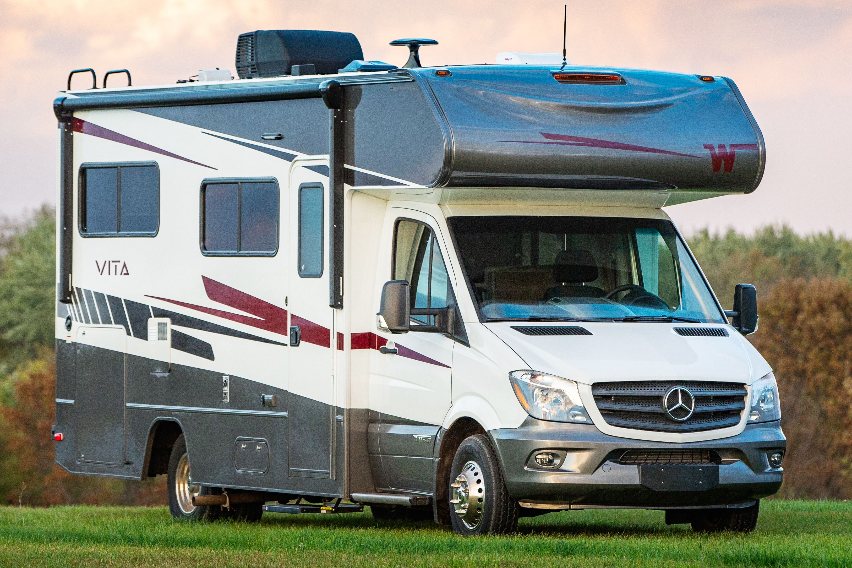 Introducing the All New   Winnebago Vita  Mercedes Benz fuel efficiency with Winnebago's legendary quality    $127,483 MSRP