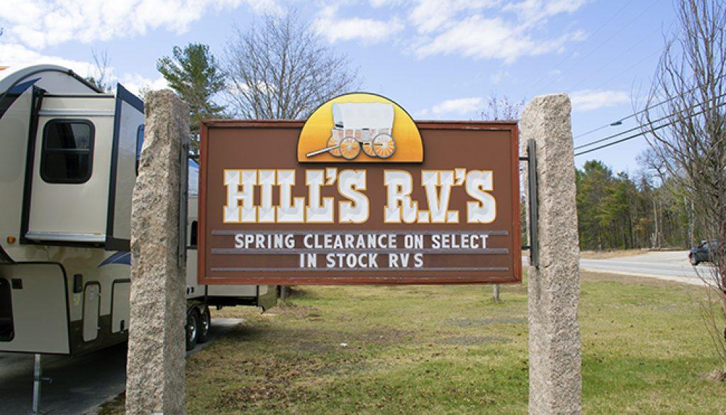 Hills Sign
